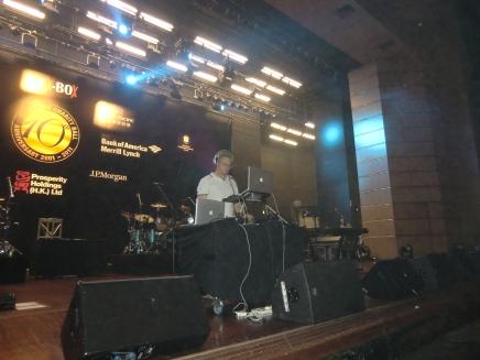 HKCEC sound check, FCC Po Leung Kuk Charity Ball 2011