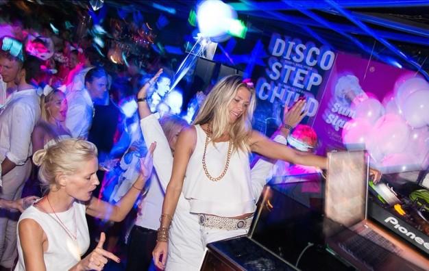 White party, Volar night club, HK