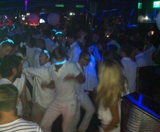 White party, Volar night club, HK