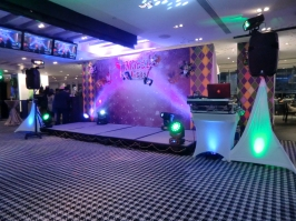 Credit Suisse Mardi Gras theme Xmas party 2015