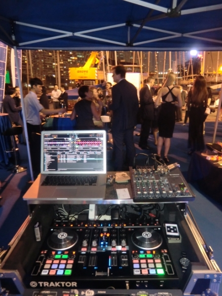 Corporate reception, Royal Hong Kong Yacht Club