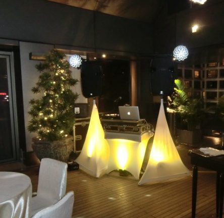 Home Party package with yellow theme at The Patio, Peninsula Hotel