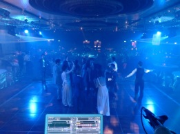 wedding after party at the Intercontinental Hotel ballroom