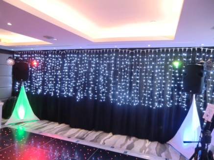 Party Package lighting at HK Cricket Club