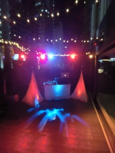 Club Party Package at 50th birthday party, Cirql Terrace, Ovolo Southside