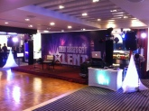 Got Talent! Reception and Mood Lighting Packages set up for the Credit Suisse Xmas party 2016