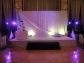 adding subtle colour wash for Bride and groom entry at The Fur Seasons Grand Ballroom.