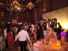 Wedding afterparty at The Four Seasons Grand Ballroom