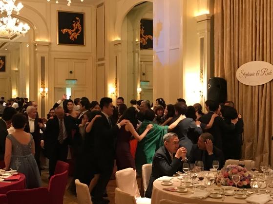 Wedding party at the Peninsula Hotel Salisbury Room