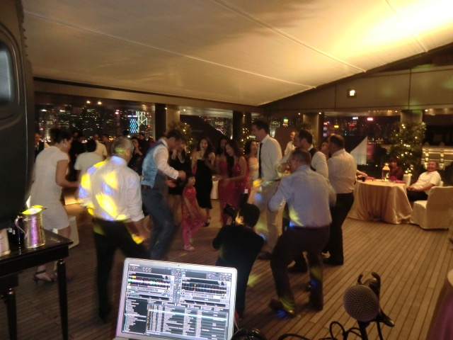 Wedding at the Garden Patio, The Peninsula Hotel