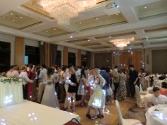 First dance 'twinkle' at The American Club with the Banquet Party Package