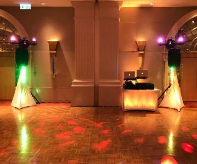 Kowloon Shangri-la wedding set up